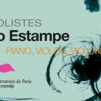 Trio Estampe Claudine Simon piano