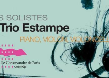 Trio Estampe Claudine Simon piano