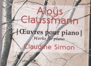 Aloys Claussmann Claudine Simon piano