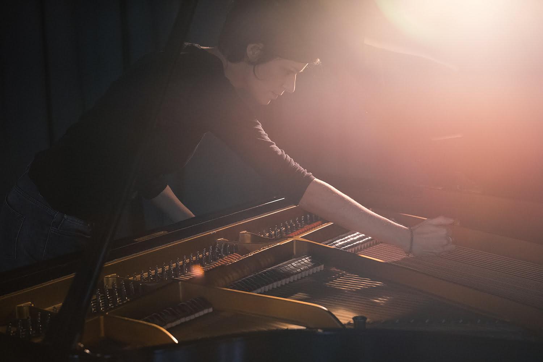 Claudine simon piano